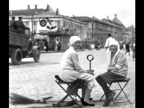 Запечатленное время. Почти Неузнаваемая Москва, лето, 1924 год ... Редкие кадры кинохроники
