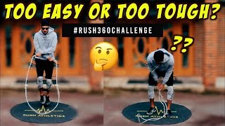 JUMP ROPE MIND FU*K! CAN YOU DO THIS? GLOBAL #RUSH360CHALLENGE! TRY NOW!