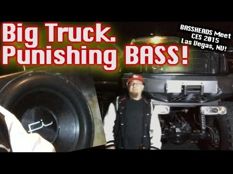 Big Truck. Punishing Bass! It Smells Like A Demo In Here! (6) Fi 15's (3) American Bass 1100.1 video