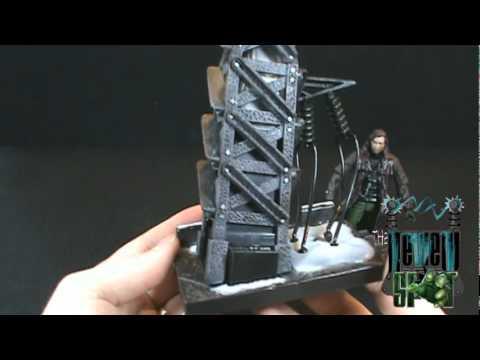 Spooky Spot - Van Helsing Monster Slayer Van Helsing with light up tower playset