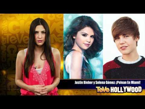 Justin Bieber y Selena Gomez Pelean en Miami