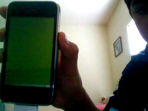 {FIX} Iphone 3g green screen of death!