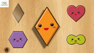 Best Games for Kids - Kids puzzle of geometry