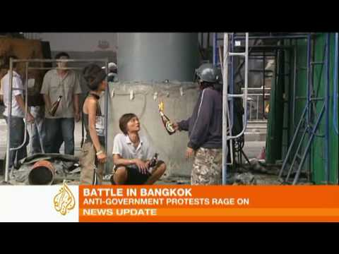 Bangkok burns as Thai protest heats up