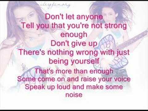 Miley Cyrus - Make Some Noise by Miley Cyrus+lyrics