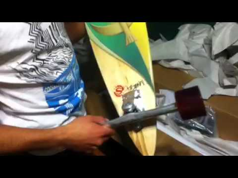 Unboxing Pintail 37 Original Skateboards.