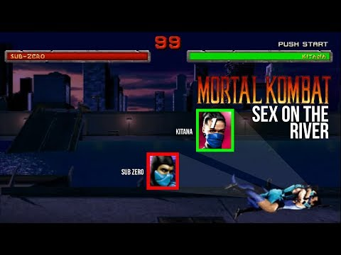 Sub-zero and Kitana - Sex on the river parody!