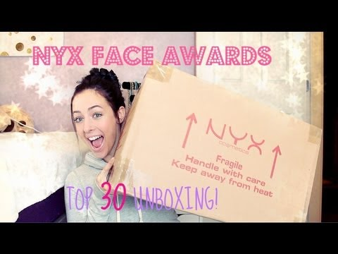 NYX Face Awards Top 30: Unboxing! | GettingPretty
