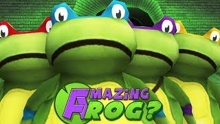 TEENAGE MUTANT NINJA...FROGS? - Amazing Frog - Part 104 | Pungence