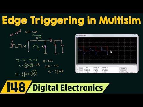 How to get Edge Triggering | Simulation using Multisim