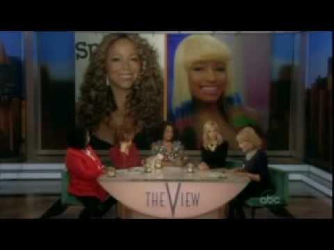 Mariah Carey Told Barbara Walters Nicki Minaj Threatened to Shoot her!