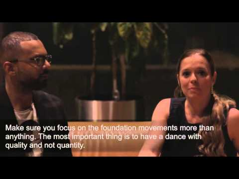 The importance of attending weekly dance classes - Alex de Carvalho and Renata Peçanha