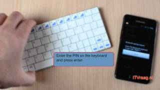 Galaxy S2 & Rapoo E6300 (Bluetooth Keyboard)