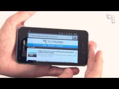 Samsung Galaxy SII Lite [Anlise de Produto] - Tecmundo