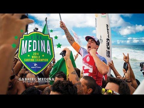 Gabriel Medina, prodige devenu champion