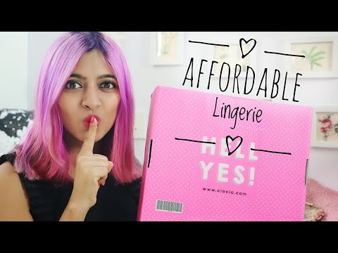 Affordable Lingerie Haul _    Clovia Lingerie Essentials For Every Girl    SuperWowStyle Prachi
