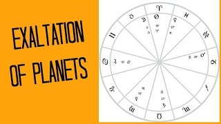 Planets in Exaltation