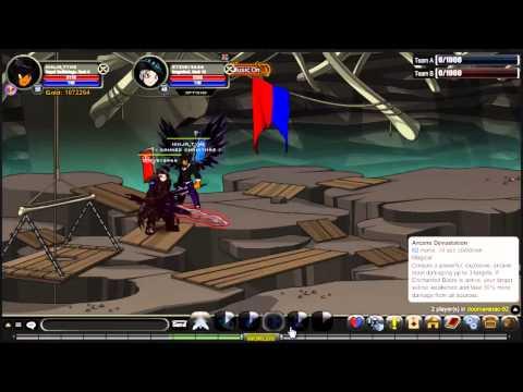 AQWorlds Royal Battle Mage Pvp