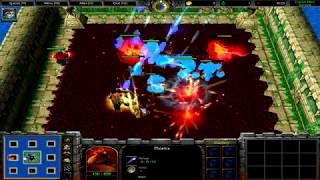 Warcraft 3 | Custom Hero Survival v2.6c | Almost bet 47k gold | Awesome final battle