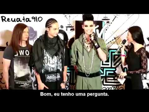 Tokio Hotel - Mtv World Stage Malaysia 2010 - Press Conference (pt Subs) video