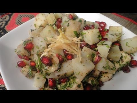 Aloo Kachalu Chaat video