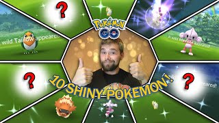 10 HOENN SHINY POKEMON CAUGHT! SHINY TERRAKION HUNT! SHINY POOCHYENA SPOTLIGHT HOUR! (Pokemon GO)