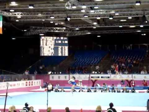 Marta PIHAN-KULESZA POL, Floor Senior Qualification, European Gymnastics Championships 2012