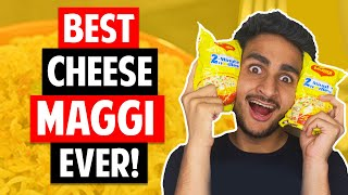 MAGGI IS LIFE: Making My SECRET CHEESE MAGGI Recipe [Best Maggi Ever] | Anmol Sachar | Funny Vlog