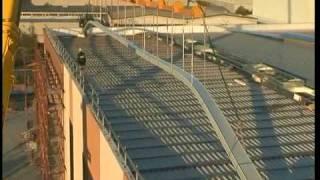 Copertura metallica Alugraf - lastre da 50 m