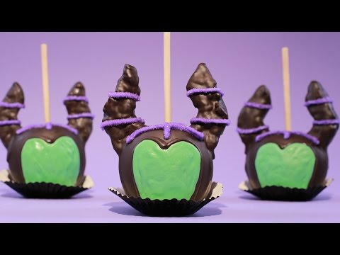 MALEFICENT CANDY APPLES - NERDY NUMMIES