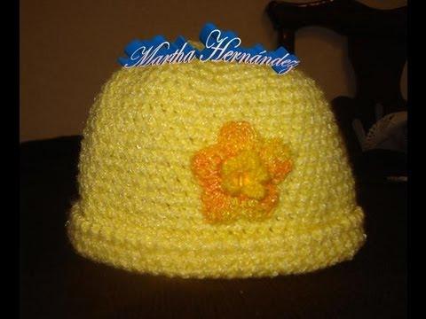 Crochet Como tejer un Gorro Facil y Rapido Parte 1 de 2