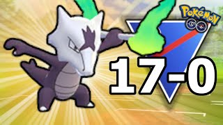 I GO ON A 17 GAME WIN STREAK AT RANK 8 WITH ALOLAN MAROWAK | POKEMON GO BATTLE GREAT LEAGUE PVP
