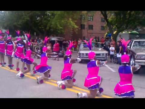 Jazz Steppers (North Chicago, IL) - JNAC Cease Fire Rally 6/19/2011