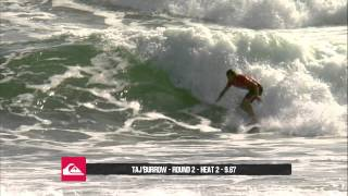 Taj Burrow R2 H2 9.40 - Quik Pro Gold Coast