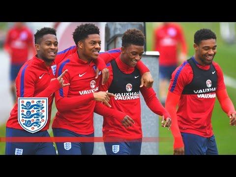 England U21 free-kick & shooting session | Inside Training
