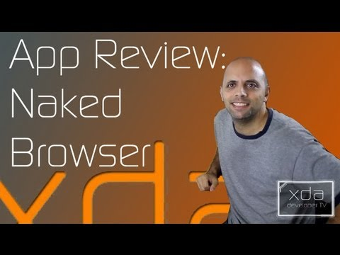 Simple Web Browsing with Naked Browser -- App Review
