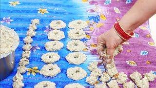 देशी तरीके से उड़द की बड़ी (कोहरौड़ी)बनाने की विधि। Authentic Village Style Kaddu Badi Recipe