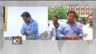 Minister KTR meets Union Handloom Minister Over Handloom weaver Problems | Delhi