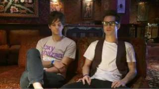Brendon and Dallon of Panic! at the Disco interviewed