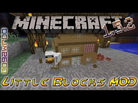 Little Blocks MOD Instalacion + Review   Minecraft 1.5.2