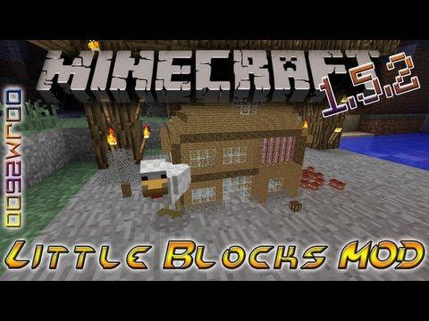 Little Blocks MOD Instalacion + Review   Minecraft 1.5.2