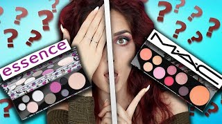 Oh SHIT 😳 ESSENCE vs. MAC! Lidschatten Paletten VERGLEICH! Luisacrashion