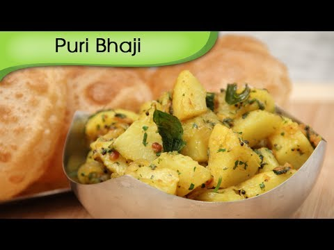 Puri Bhaji - How To Make Bhaji For Puri ...