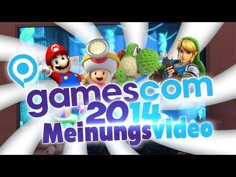 Nintendo @Gamescom 2014 - Meinungsvideo