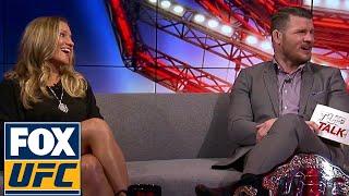 Barb Honchak dishes on Eddie Alvarez and Lauren Murphy | TUF TALK