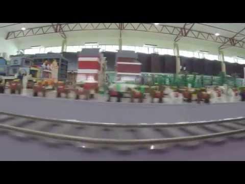 SMSA KB Brunei Goodwill Day Nov 2014 Lego Town City Train display by I LUG BN KB