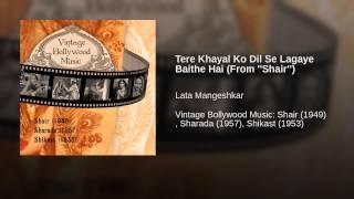 Tere Khayal Ko Dil Se Lagaye Baithe Hai (From ''Shair'')