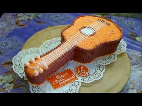торт-гитара.фото