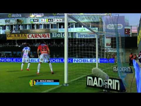 Atlético de Rafaela lo dio vuelta y venció a Aldosivi en el adelanto de la fecha