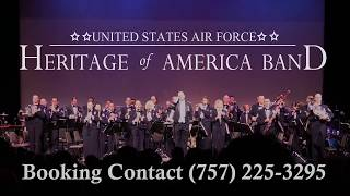 Usaf Heritage Of America Band Promotional Audio 2018